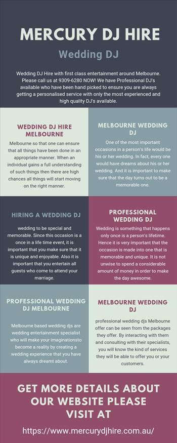 Melbourne Based Wedding DJ.jpg by Mercurydjhire