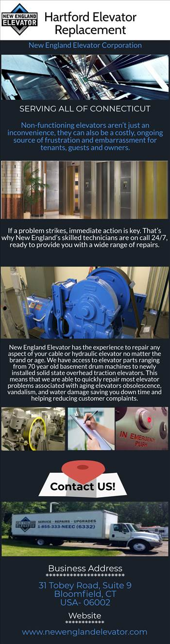 Hartford Elevator Replacement by englandelevator