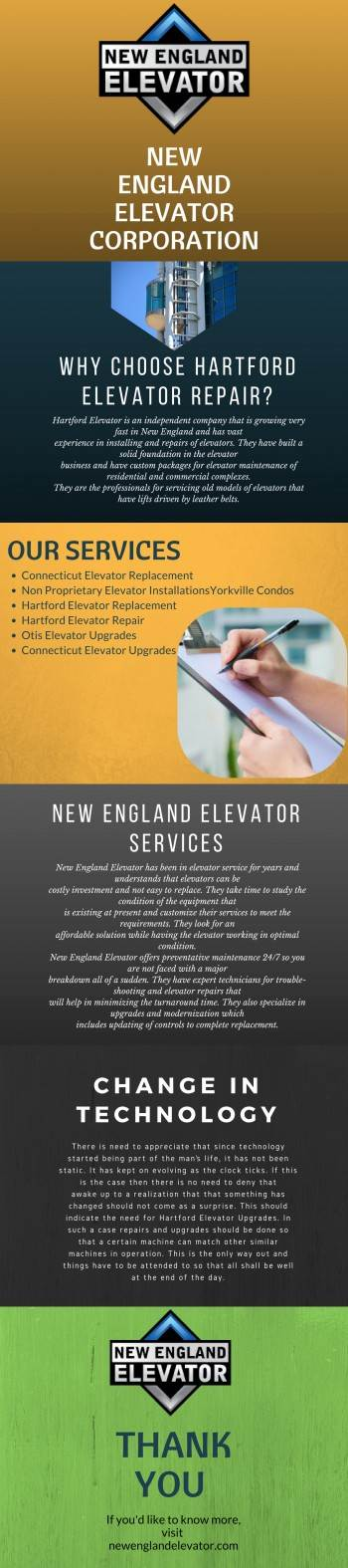 Hartford Elevator Repair by englandelevator