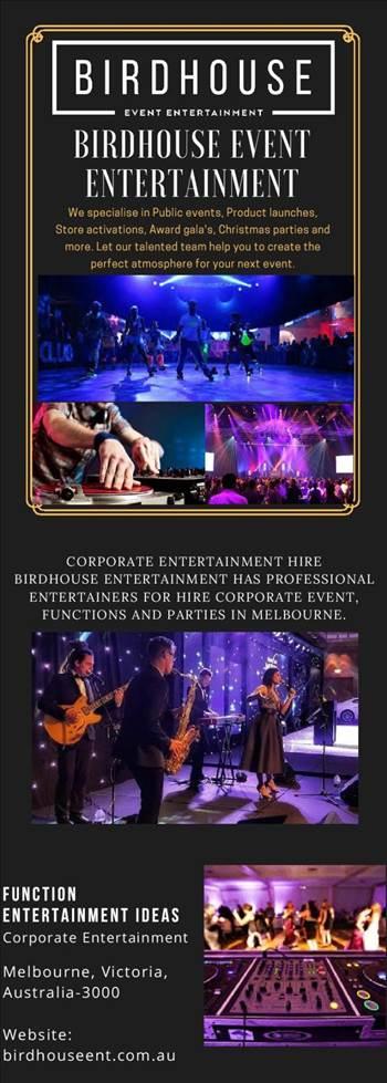 Corporate Entertainment Melbourne.jpg by birdhouse