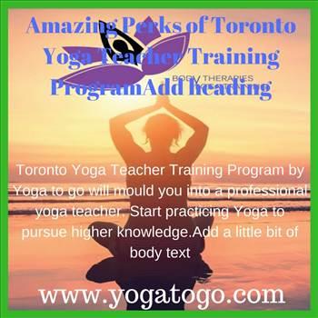 Toronto Yoga Teacher Training By Yogatogo Village Photos