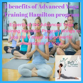 5 benefits of Advanced Yoga Training Hamilton program by yogatogo