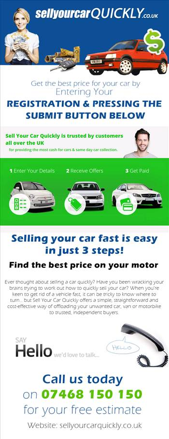 Sell Your Car Quickly by sellyourcarquickly