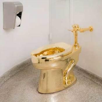 golden-toilet.jpg by Acef Ebrahimi