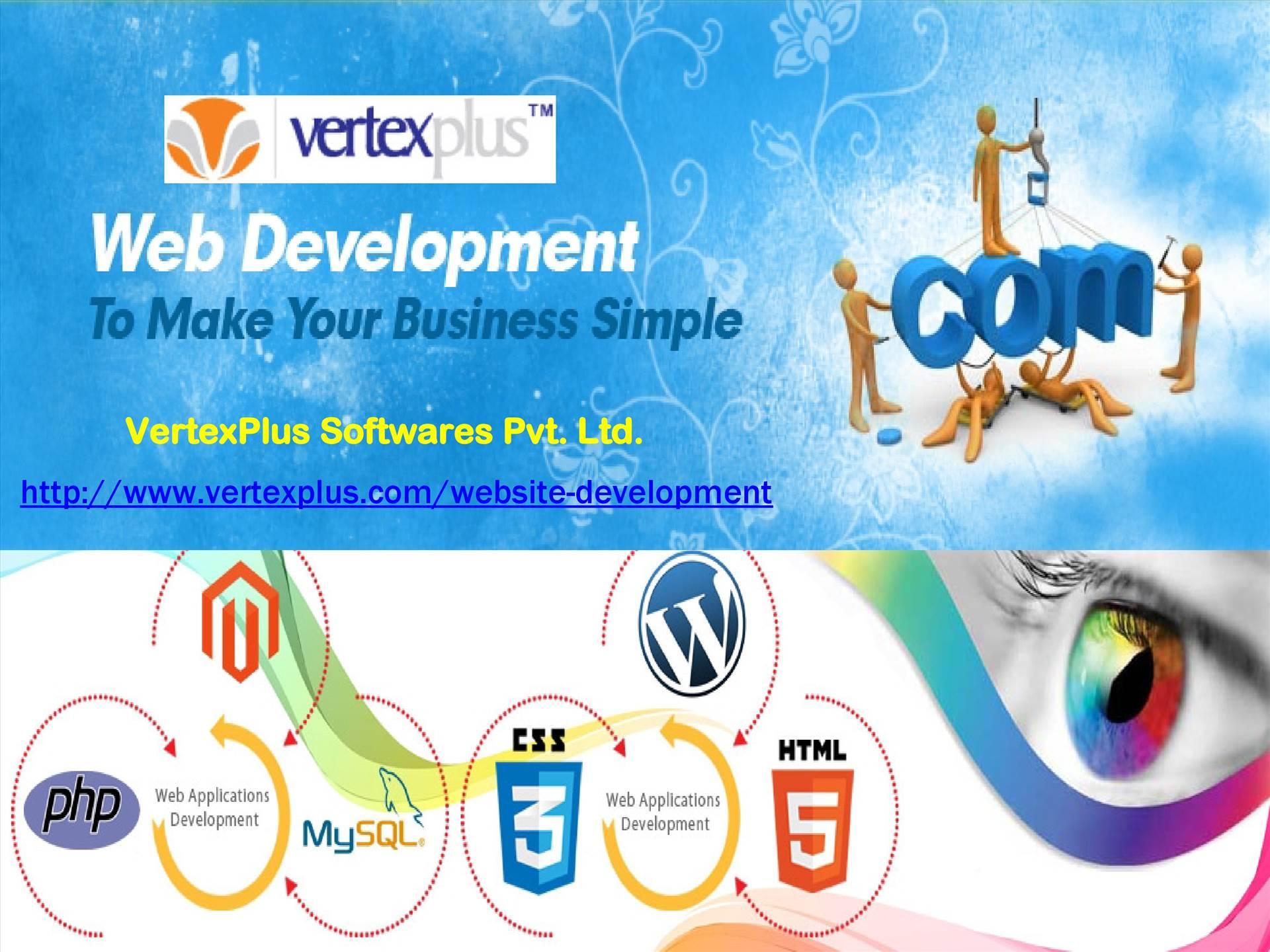offshore website development company - Vertexplus Softwares.jpg  by vertexplus