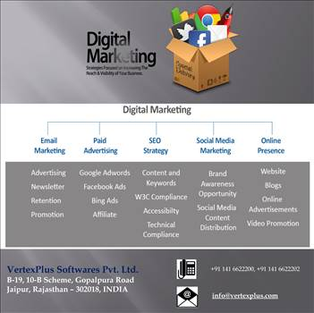Digital Marketing Services by vertexplus