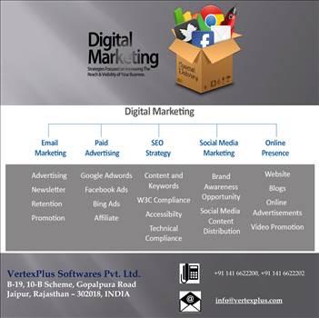 Digital Marketing Services by vertexplus