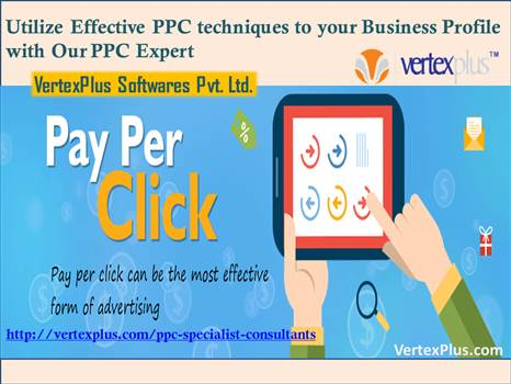 Utilize Effective PPC techniques to your Business Profile with VertexPlus's PPC Experts by vertexplus
