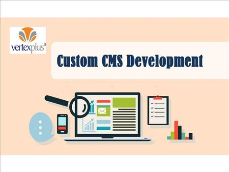 Expert CMS Development services, Easy to manage dashboard by vertexplus