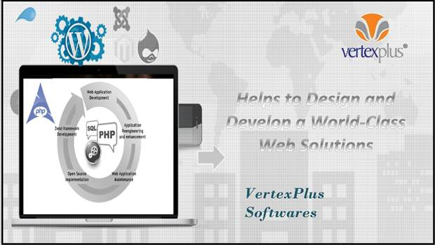 Specialized Web application development services in India by vertexplus