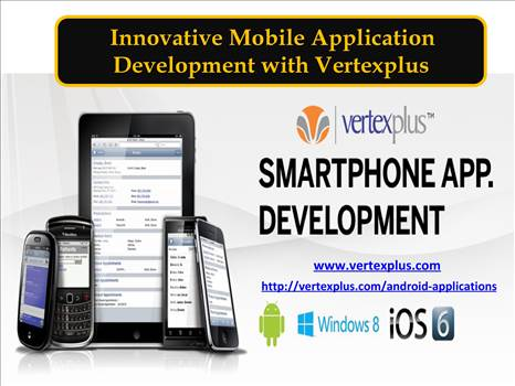 Innovative Mobile Application Development with Vertexplus by vertexplus