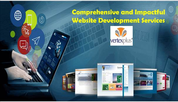 Comprehensive and Impactful Website Development Services by vertexplus