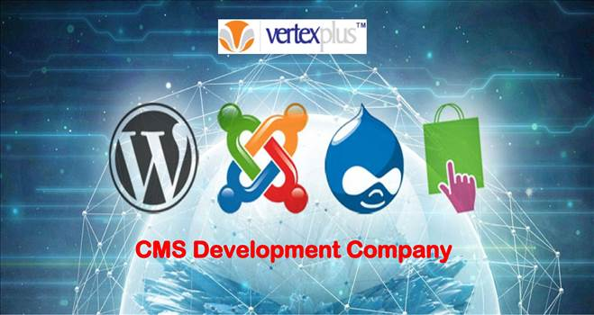 CMS Development Services- Vertexplus by vertexplus