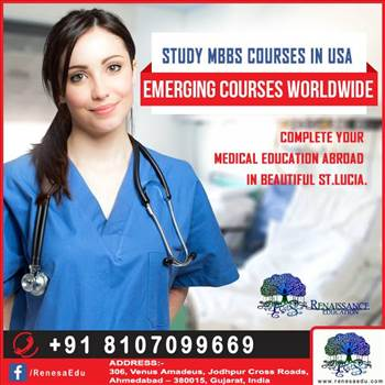 Study MBBS in USA by renaissanceedu