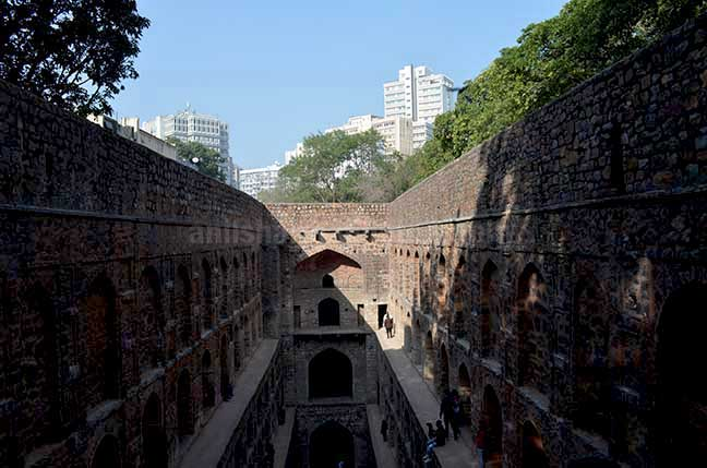 "Monuments: Agrasen ki Baoli, New Delhi (India) The historic ""Agrasen Ki Baoli"" or step well at Hailey Road, Connaught Place, New Delhi.a. by Anil Sharma Photography"