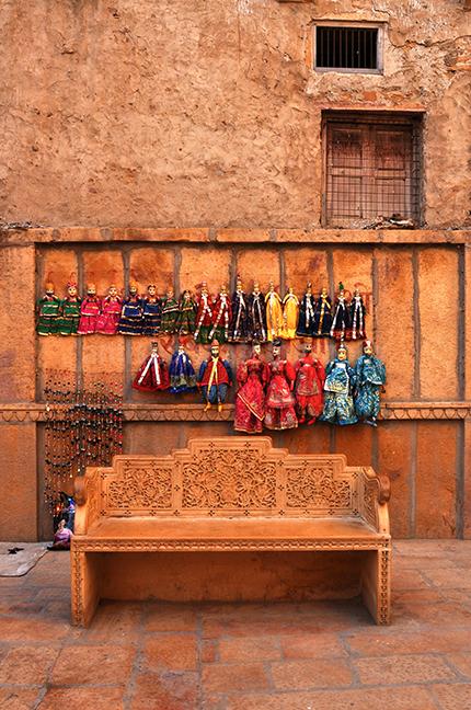 Festivals: Jaisalmer Desert Festival Rajasthan (India) Rajasthani puppets for sale in Jaisalmer. by Anil Sharma Photography