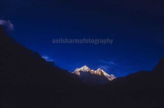 Nature-  Bhagirathi Peak by Anil Sharma Photography