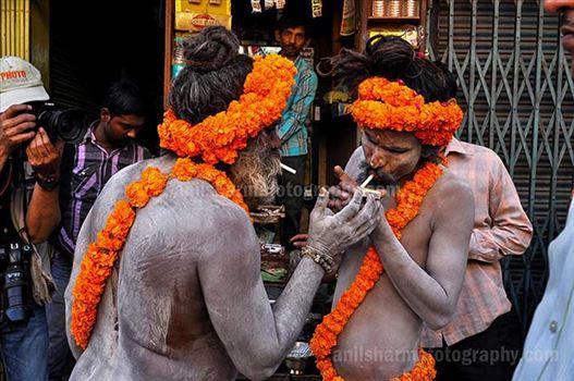 Indian Religions- Naga Sadhu's by Anil Sharma Photography