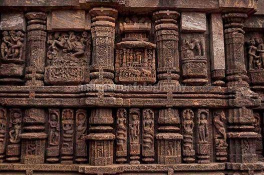 Monuments: Sun Temple Konark, Orissa (India) by Anil Sharma Photography