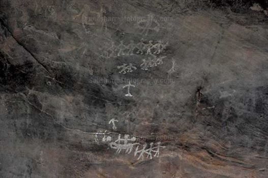 Archaeology- Bhimbetka Rock Shelters by Anil Sharma Photography
