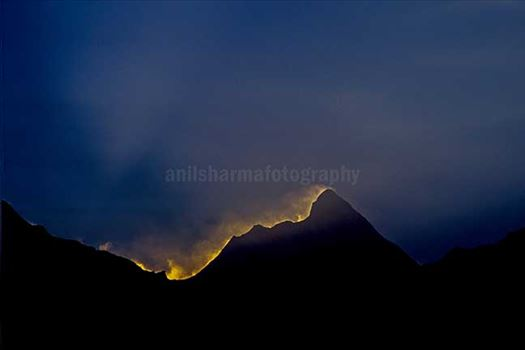 Nature-  Nanda Devi Peak by Anil Sharma Photography