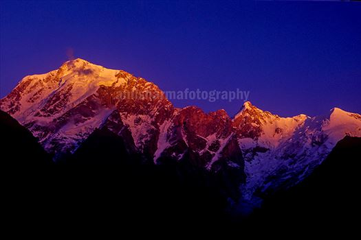 Nature-  Kinnaur Kailash by Anil Sharma Photography