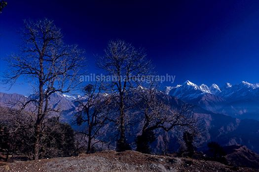 Nature- Panchchuli Peaks by Anil Sharma Photography