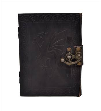 handmade leather journal.jpg by leatherjournal