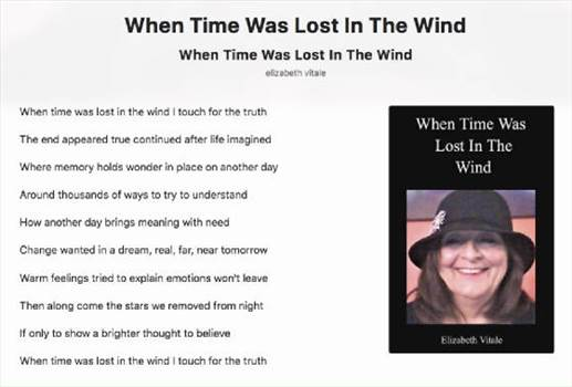 When Time Was Lost In The Wind.jpg by elizabethvitale