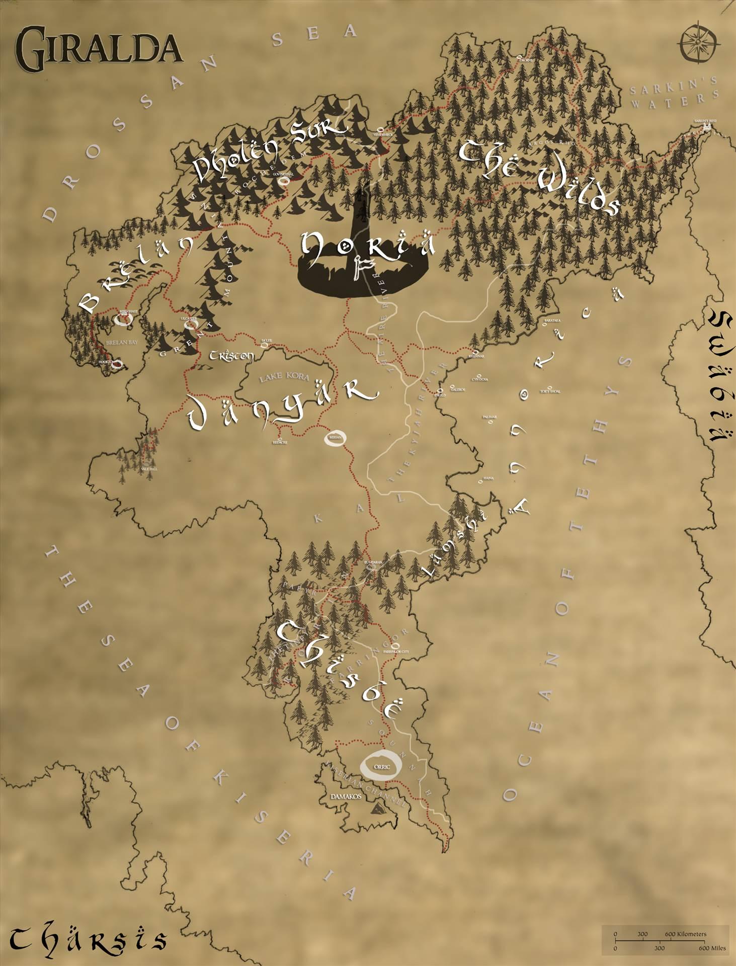map of giralda