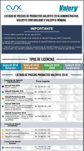 Valery administrativo Contable by nd