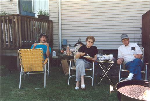 Tom&Mom&Dad- cookout Towson Ave.jpg by tim15856