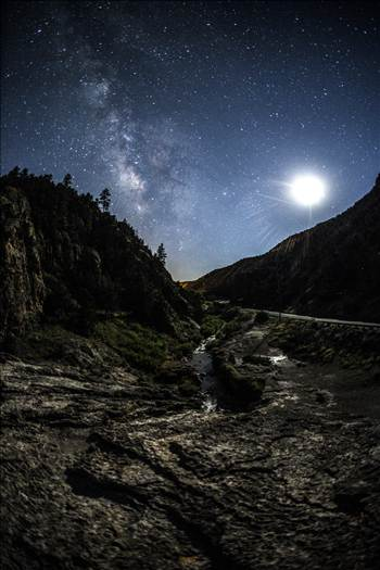 Soda Dam And Milky Way.jpg by Joey Onyxone Sandoval