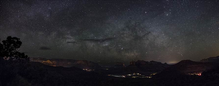 Sedona Milky Way.jpg by Joey Onyxone Sandoval