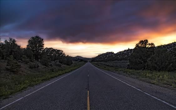 Road From Gallina New Mexico.jpg by Joey Onyxone Sandoval