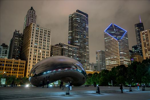 """Cloud Gate"" by Eddie Zamora"