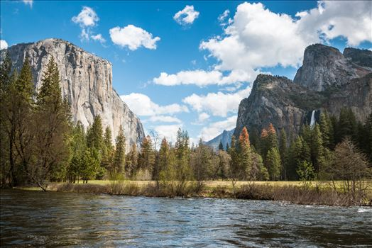 """Blue Skies Over Yosemite"" by Eddie Caldera Zamora"