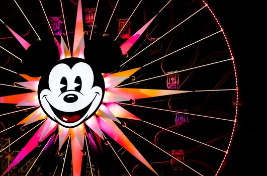 """Mickey's Fun Wheel"" by Eddie Zamora"