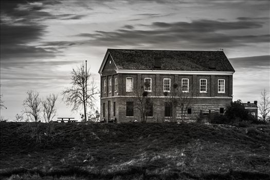 Lonely Courthouse - Location: Millerton Lake, CA
