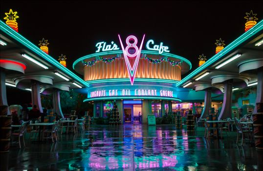 """Flo's V8 Cafe"" by Eddie Zamora"