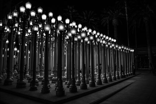 """Urban Light"" by Eddie Zamora"