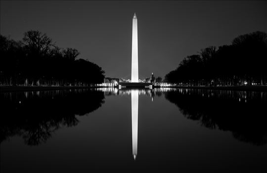 """Reflection-Washington Monument"" by Eddie Zamora"
