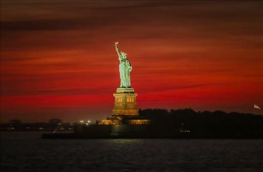 """Liberty at Dusk"" by Eddie Zamora"