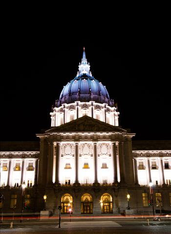 San Francisco City Hall by Eddie Caldera Zamora
