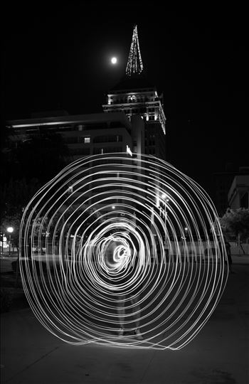 """Black and White Wheel"" by Eddie Zamora"
