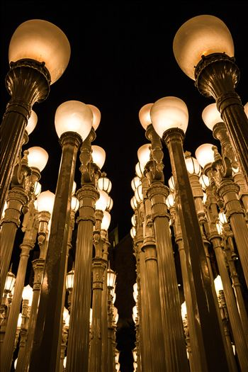 Urban Light by Eddie Zamora