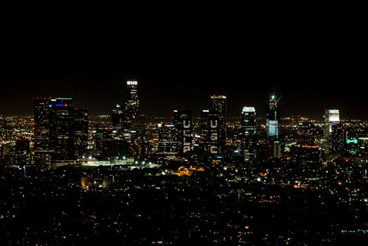 Los Angeles View from Griffith Observatory by Eddie Zamora