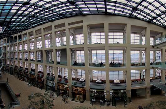 Salt Lake City Library Panorama by David Verschueren