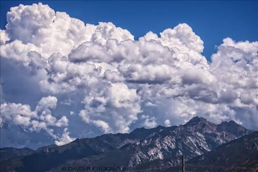 Clouds Over Utah by David Verschueren