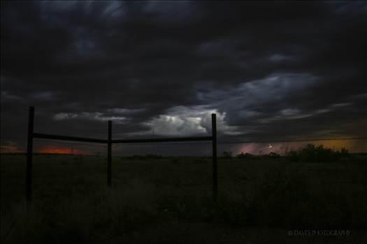 A Storm North of Jal, NM by David Verschueren